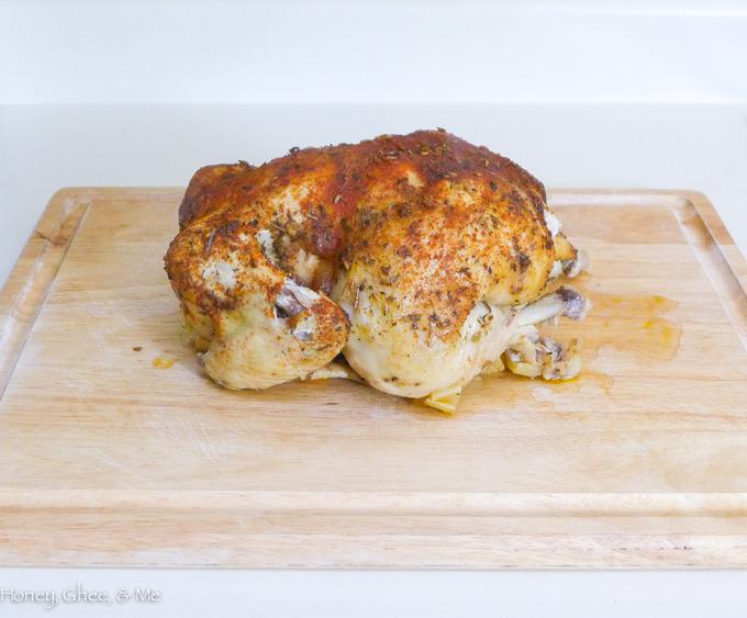 whole chicken crock pot-20