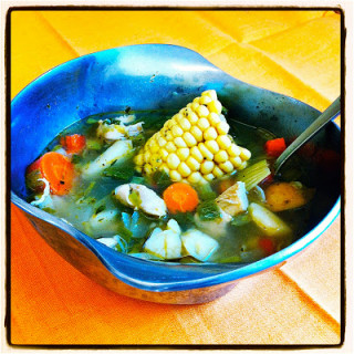 Chicken & Veggie Soup aka Recuperation Stew