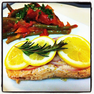 Lemon & Rosemary Salmon