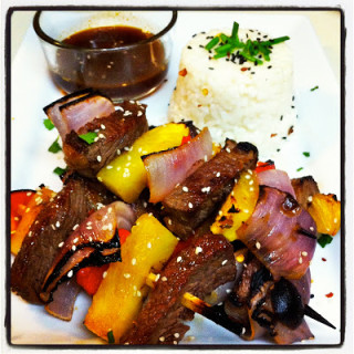 Asian-Style Beef Kabobs