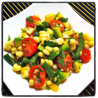 Corn Salad w/Lime Vinaigrette