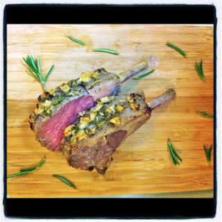 Rosemary Garlic Lamb Rib Chops