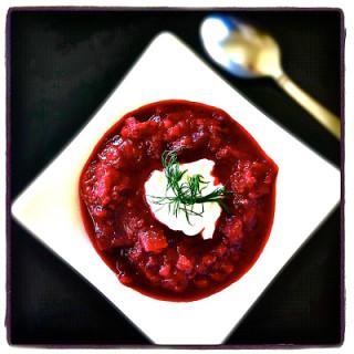Borscht… Fresh Beet Soup