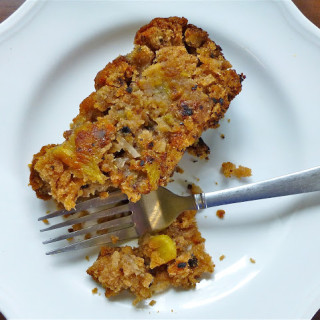 Pineapple-Zucchini Bread {With Walnuts & Coconut}