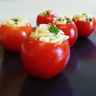 Orzo-Salad Stuffed Tomatoes