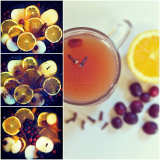 Apple Cranberry Mulled Cider (Slow-Cooked)