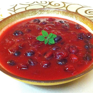 Chipotle Cranberry Sauce