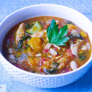 Slow~Cooked Butternut Squash & Chicken Stew…