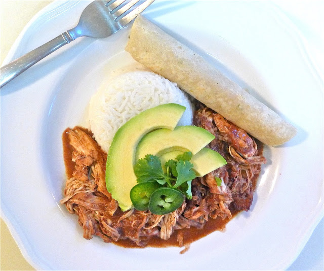 Crock Pot Chicken Mole… Simple & Scrumptious