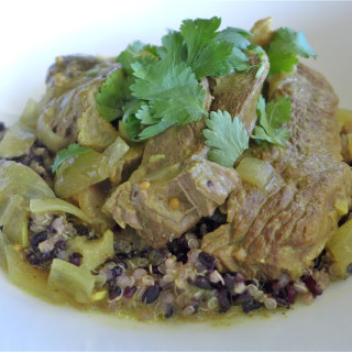 Slow-Cooker Lamb Curry