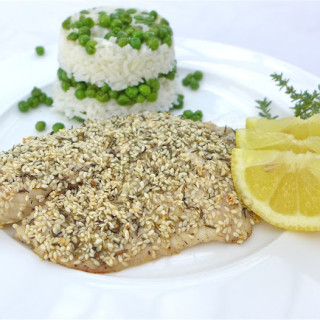 Sesame & Thyme Encrusted Tilapia