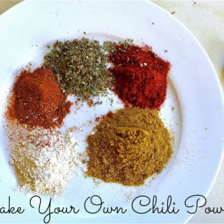 Make Your Own Chili Powder!