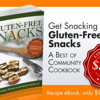 Gluten-Free Snacks eCookbook… On Sale Now!!