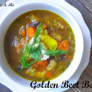 Golden Beet Borscht… Guest Post for Food Renegade!