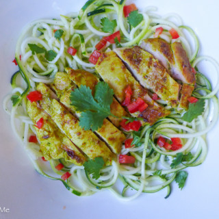 Lemongrass Chicken & Zoodles {Guest Post for Food Renegade ~ Paleo & Low FODMAP}