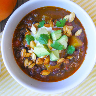 Pumpkin~Chorizo Chili