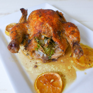 Roasted Cornish Game Hens {Paleo, Whole30}