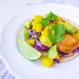 Beer-Battered Baja Fish Tacos {with Gluten-free Option!}