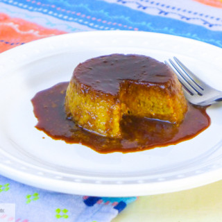 pumpkin coconut flan thanksgiving-1-4