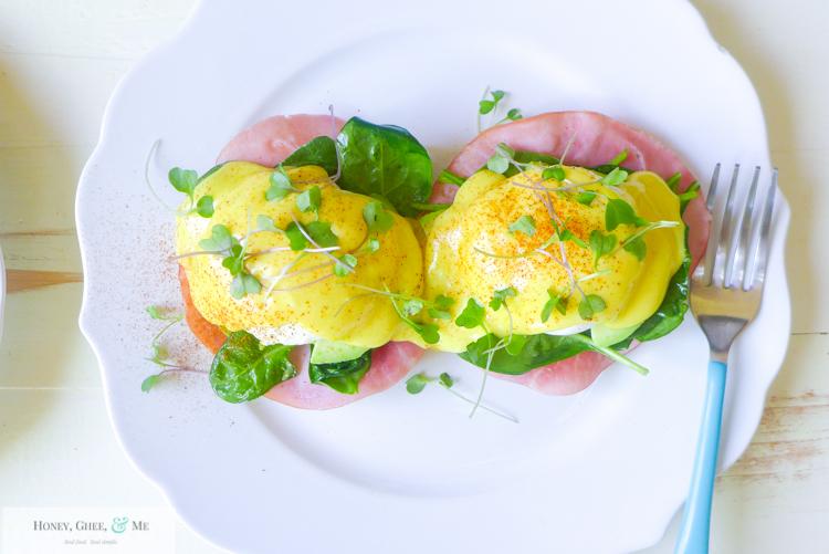 hollandaise sauce immersion blender quick easy eggs benedict-54