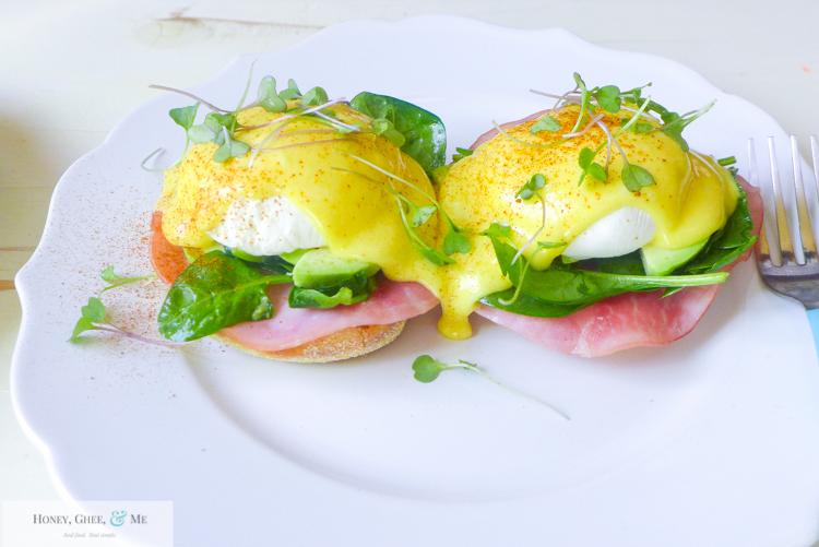 hollandaise sauce immersion blender quick easy eggs benedict-55