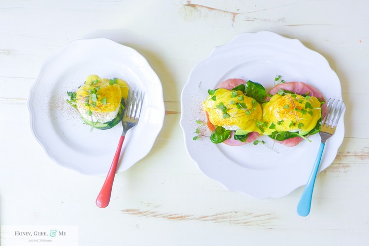 hollandaise sauce immersion blender quick easy eggs benedict-57