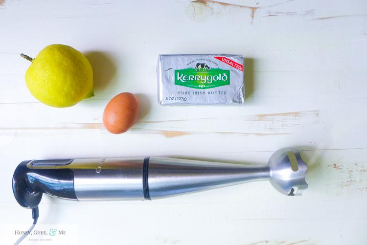 hollandaise sauce immersion blender quick easy eggs benedict-6