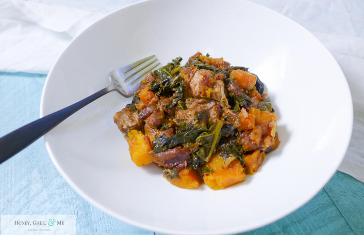 pork apricot kale garlic butternut squash slow cooker crock pot-29