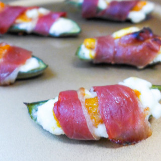 stuffed jalapeno peppers persimmon prosciutto cream cheese-30