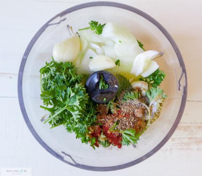 goat kofta greek tzatziki saffron rice romanesco-6