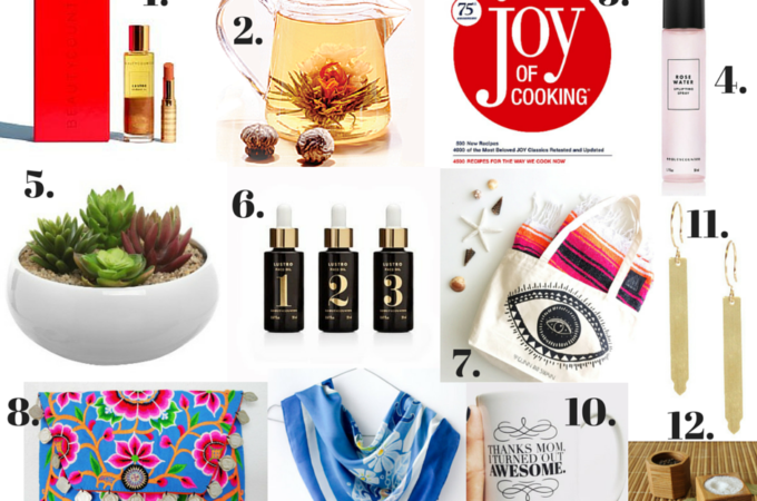 A Peek at 12 of Favorite Mother's Day Gifts