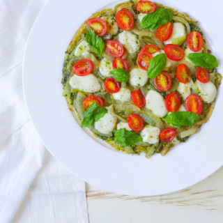 "Breakfast ""Pizza"" {Caprese Version}"