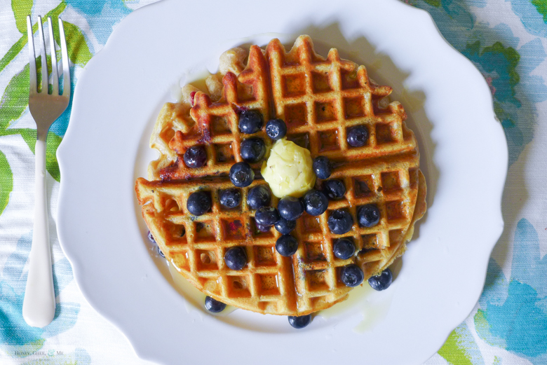 cassava blueberry waffles-13