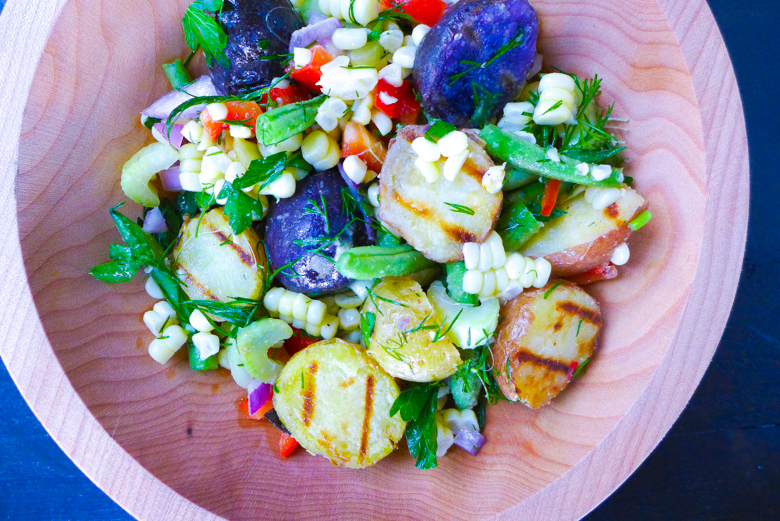 GRILLED POTATO CORN SALAD-1-4