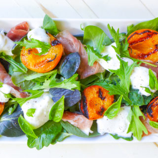 grilled apricots and potato skewers -42