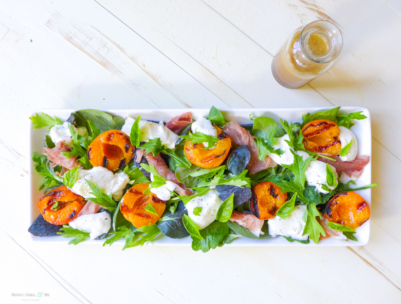 grilled apricots and potato skewers -45