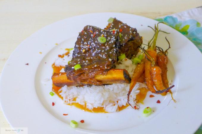 Instant Pot Honey~Ginger Beef Short Ribs {with Gangsta Sauce!}