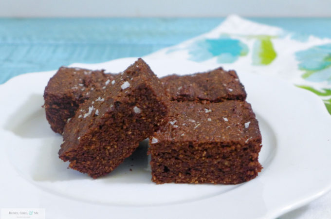 Coconut Brownies {Paleo, GF}