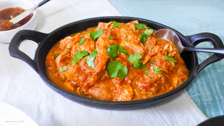 Crock pot chicken tikka masala simplified im personally a huge fan of rice with this and as a self proclaimed condiment queen love a good array of chutneys too forumfinder Image collections