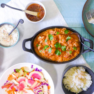 Crock Pot Chicken Tikka Masala {Simplified}