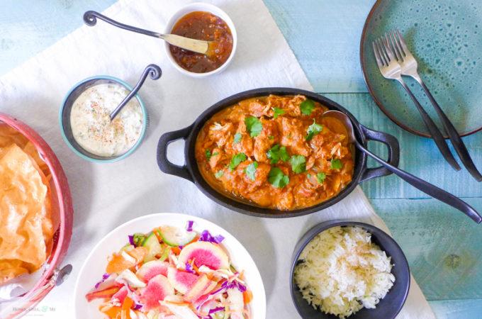 Crock Pot Chicken Tikka Masala {Simplified}