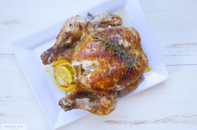 Instant Pot Whole Chicken & Gravy {Whole30 Optional}