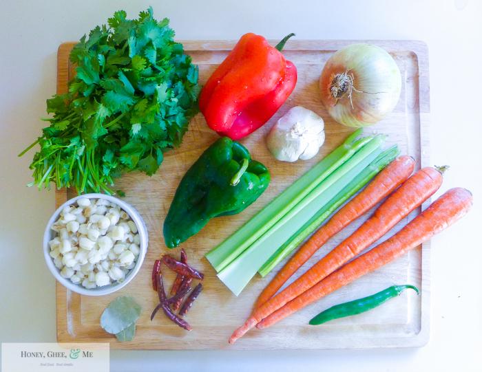 chicken vegetable pozole posole-1-2