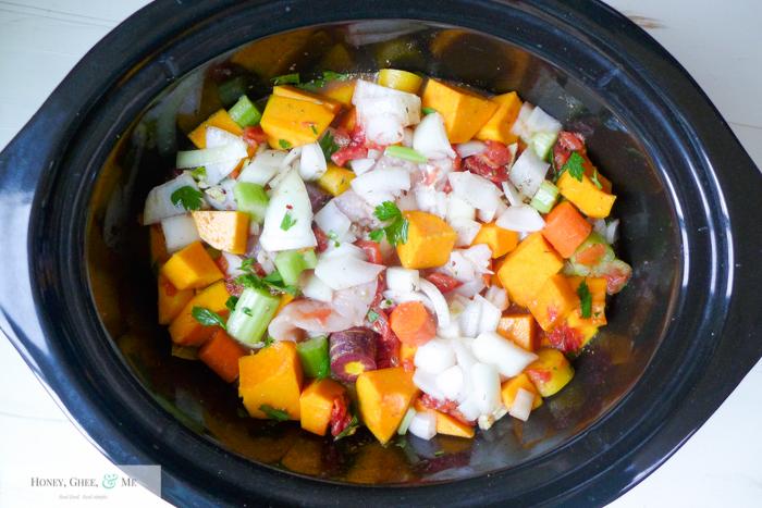 butternut squash chicken stew crrock pot-13