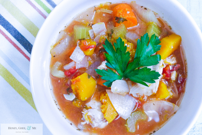 butternut squash chicken stew crrock pot bean-11