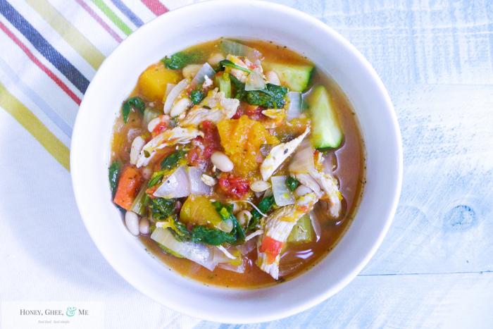 butternut squash chicken stew crrock pot bean-25