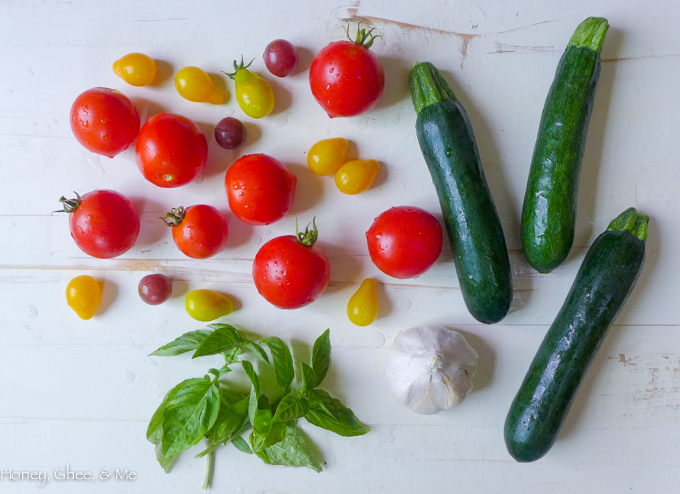 tomato & zucchini tart cassava flour-2