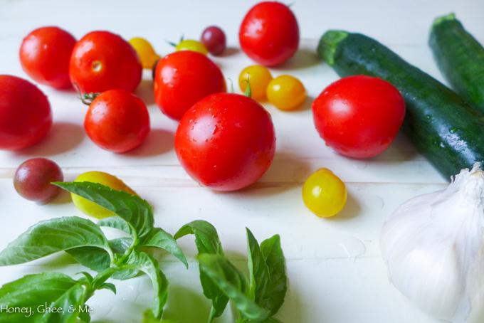 tomato & zucchini tart cassava flour-3