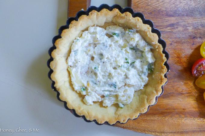 tomato & zucchini tart cassava flour-33
