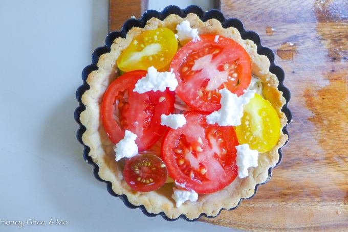 tomato & zucchini tart cassava flour-41